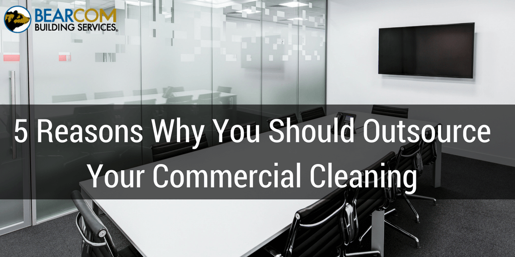 Outsourcing commercial cleaning